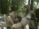 Hot Pregnant Ladies Group Sex
