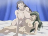 two huge titted hentai
