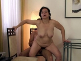 Mature sex and facials in this video
