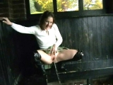 Perverse Girl taking a Steaming Piss