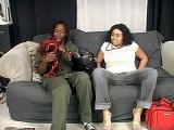 Plump Preggy Ebony Getting Her Pussy Cock Crammed