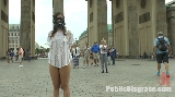 Public exposure as tourists are shocked by her nudity