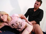 Crazy young wife enjoys cuckolding her husband who paid a guy to do her