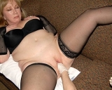Big toys and a fisting hand for this horny mature slut