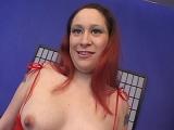 Preggo Brunette Loves Stripping and Showing Her Boobies