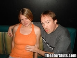 Young Wife Getting an Anal Creampie in a Porn Theater