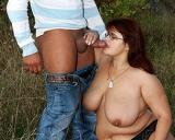 Some Outdoor Mature Plumper Sex