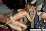 Teen Girl Gets Ass Full of Cum in a Dirty Porn Theater