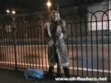 Public flashing On Girls Night Out