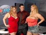 Big Girls Samantha and Renee Threesome