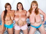 Threesome Lingerie Party