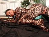 Susi is flexible tiger woman