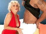 Big Black Cock Makes Georgette Cum Hard!