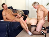 Young and old fuck hot ass granny