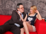 Pervy old teacher gets it on with Hot Student