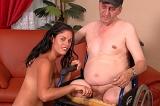 Older Gringo Pays For Hot Latina Pussy