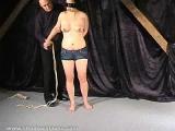 Bondage on new submissive slave