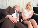 Sexy Student turned on by her tricky old teacher