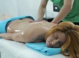 Nasty masseur seduces his client
