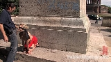 Disgraced Sex Slave laughed at and fucked in public