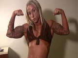 Ripped Christina Taylor Works Out