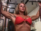 Fitness Freak Heather Payne Works Out